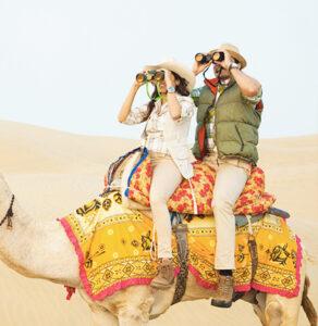Enjoyment in Jaisalmer
