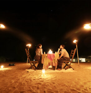 Dining on Dunes